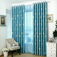 Chegada nova Cortinas Para sala de estar moderna / Quarto Blackout / Tule Janela pequena cozinha / cortinas cortinas prontas