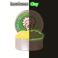 DIY Luminous Slime Modeling Clay Light Glow In The Dark Boun...