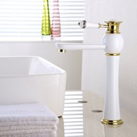 Newly High End Solid Brass Faucets Europe Style White Painti...