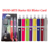 100% MT3 BCC EVOD Blister pack kit mt3 atomizer with evod 65...