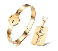18 Karat Roségold plattiert Titan Stahl Armband Refill Liebe Pfirsich Herz Armband
