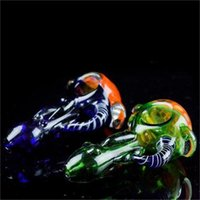 Heady Dry Herb Smoking Pipes Hand Pipes Colored Honeycomb Sp...