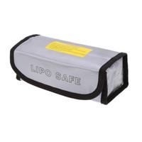 GoolRC Muilt İşlevli Lipo Pil patlamaya dayanıklı 185 * 75 * 60mm Lipo Pil Koruma Güvenlik Çantası LiPo Şarj için