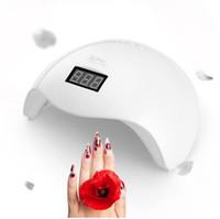 UVLED ВС УФ-лампа 48 Вт SUN5X LED ногтей сушилка маникюр лампы двойной свет авто движения сушилка для отверждения гель польский ногтей инструменты