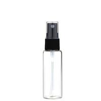 20 ml Mini Bernsteinglas Spray Flasche Zerstäuber Schwarz Sprayer Nachfüllbarer Parfüm Flasche Phiole Fine Mist Leere kosmetische Probe Geschenkbehälter
