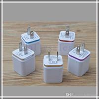 핫 세일 홈 여행 듀얼 포트 벽 충전기 듀얼 USB 포트 전원 어댑터 금속 버섯 EU US 플러그 충전 스마트 폰 플러스 mp4