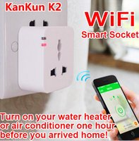 2015 kankun k2 prise de courant de wifi intelligente pour iphone / ipad / smartphone android