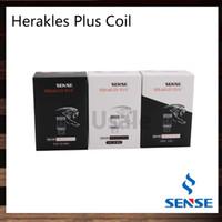 Sense Herakles Plus Réservoir Tête De Réservoir 0.4ohm 0.2ohm Ni200 316L 0.2ohm Sensetech Herakles Plus Atomiseur Bobines De Remplacement 100% Oirginal