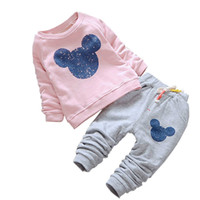 6M- 24M Baby Girl Clothes Autumn Baby Clothing Sets Cartoon P...