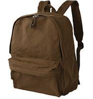 وجدت براون على ظهره موجي حزمة اليوم اختيار الحقيبة المدرسية الأولى عارضة packsack الجودة حقيبة المدرسية الرياضة Daypack حقيبة في الهواء الطلق