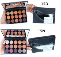 Più nuova palette di trucco !! 15colors Eyeshadow Day Slayer / 15D Night Master / 15N Palette Shimmer Matte Eyeshadow Palette Spedizione DHL