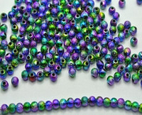 Hot ! 1500pcs Multi-Color Stardust Acrylic Round Spacer Beads 5mm DIY Jewelry