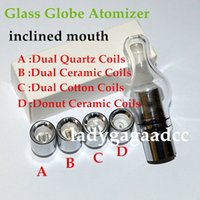 Glass Globe Atomizer Dry Herb and wax Vaporizer bulb glass a...