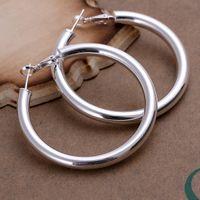 Brand New Sterling Silver Plated 5mm Soramimi Bague DFMSE149, Boucles d'oreilles de lustre 1825 d'argent pour femmes 10 paires beaucoup