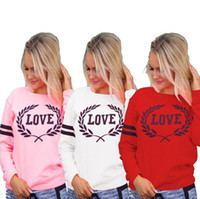 Love Letter Harajuku Hoodies Casual Hoodies Spring Autumn Sp...