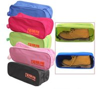 Portable Waterproof Shoe Storage Bag Travel Visual Breathabl...