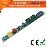 AC85-265V 50 / 60Hz DC25-80V 12-36w T5 T8 T10 LED Tube tube conducteur lumineux d'alimentation non isolé transformateurs non isolés