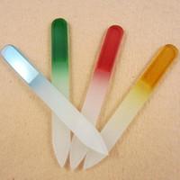 Heißer Verkauf 1 stücke Professionelle Durable Glas Nagel Schönheit Maniküre Datei Buffer Art Tool Drop Shipping NA-0112