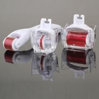 3-в-1 комплект дерма ролик Титана микро игла ролик 180 600 1200 иглы кожи DermaRoller для тела и лица 0.5 1.0 1.5 мм иглы