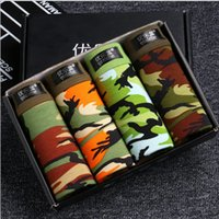 4 pieces NEW Men' s Underwear Modal Men Boxer Shorts Plu...