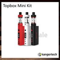 Kanger Topbox Mini Kit De Démarrage Avec Kbox Mini 75W TC Mod 3.5ML Toptank Mini Atomiseur Remplissage Contrôle De Flux D'air 100% D'origine