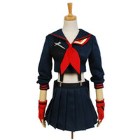 Japanese Anime KILL La KILL Ryuko Matoi Cosplay Costumes Par...