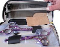 Profesional 5.5 pulgadas tijeras de peluquero tijeras de peluquería, paquete de combinación de herramienta de corte de pelo
