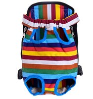 Pet malzemeleri Köpek Taşıyıcı küçük köpek ve kedi sırt çantaları açık seyahat köpek kılıf 9 renkler ücretsiz kargo