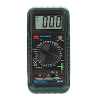 Freeshipping 휴대용 디지털 멀티 미터 DMM 온도 테스터 커패시턴스 hFE 테스트 미터 Multimetro Megohmmeter