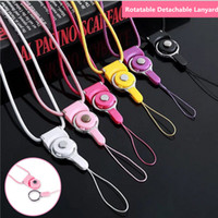 Rotatable Neck Strap Detachable Ring Lanyard hanging Charmin...