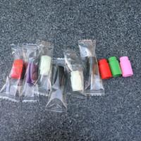 Индивидуально упакованные пластиковые капельного советы одноразовые красочные тестирование силиконовые накладки резиновые короткие советы тест тестер Cap эго капельного советы для ecig