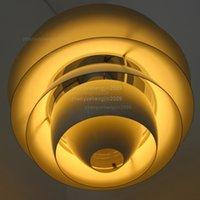 Commercio all'ingrosso - luce ciondolo a sospensione di Poul Henningsen Louis Poulsen Snowball Sospensione lampada a sospensione PH Snowball Plafing Lighting Danimarca