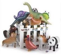 Hibrid modelleri hayvan balonlar alüminyum folyo balon yürüyüş pet balonlar Yürüyüş Hayvan Balon Parti oyuncaklar çocuk oyuncakları