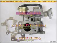 NEW KP35 54359880009 54359880007 54359880001 Turbo Turbocharger Ford Fiesta 1.4L TDCi ؛ بيجو 206 ؛ Citroen C3 2001-11 ؛ Mazda 2 DV4TD 1.4L 75HP