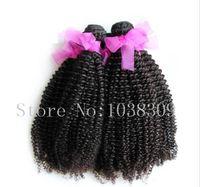 8a 처녀 머리 몽골의 머리카락 건강과 자연 아프리카 곱슬 곱슬하게 혼합 3pcs 많이 무료 배송