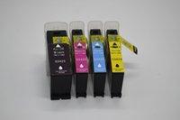 Nuevo cartucho de tinta compatible para la impresora de color Primera LX900, 4 piezas / lote