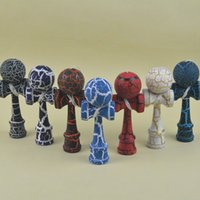 12. 5 cm mini all crack Kendama Japanese traditional game Ken...