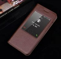 Moda Nizza per Huawei Honor 4X Custodia Cover colorata Slim Cute plastica di vibrazione del basamento della finestra Custodia in vera pelle per Huawei Honor 4X
