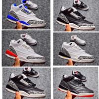 Cimento preto branco crianças tênis de basquete Katrina True Blue esportes sapatilha menino e menina crianças Toldder Trainer