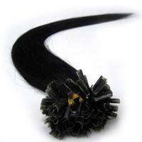 مسبقة الصنع في شعر درجة 8A U غيض / غيض مسطح / I tip