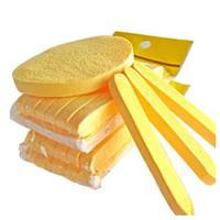 300 봉지 = 3600pcs 세안 메이크업 압축 해초 스폰지 화장품 파우더 PVA 퍼프 EMS로 무료 배송