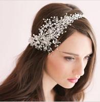 Magnífico cristal de la boda tiaras nupciales corona de la boda joyería del pelo 2015 tocado nupcial accesorios para el cabello desgaste accesorios para el cabello tocado HT14