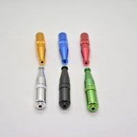 torpedo vorm metalen pijp roken aluminium tabak sigaret pijp 5 kleuren bieden ook molen quartz titanium nagel nieuw