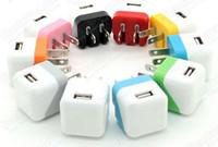 USB Início AC Power Adapter carregador de parede de carregamento dobrável UE US ficha para telefones celulares portáteis Universal