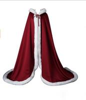 Kış Kürk Gelin Pelerinler Vücut Uzun Düğün Pelerin Hoodie Ile Yüksek Kalite 2019 Özel Yapılan Elbiseler Aksesuarları