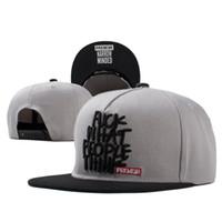 Wholesale-2016 yeni moda snapback beyzbol şapkası düz kenarlı şapka vizör şapka vahşi kişilik erkekler kadınlar için hip hop şapkalar