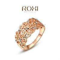 015 ROXI Brand 2015 Free Shipping Rose Gold Plated Fashion P...