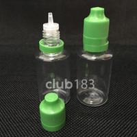 Hohe Qualität 30ML leere PET-Kunststoff-Tropfflasche mit Tamper Proof Cap Lange dünner Spitze für leere E Flüssigkeit Flasche E-Zigarette