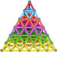 1 Компл. Магнитный Строительный Блок Игрушки Для Детей Дети Магниты Обучение Дети DIY Дизайнер Развивающие Игрушки