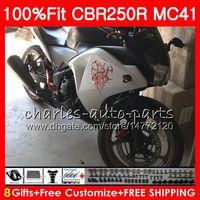 HONDA CBR300R Silve black CBR250R MC41 için Enjeksiyon 11 12 13 14 15 94NO25 CBR250 R CBR 250R 300R CBR 250 R 2011 2012 2013 2014 Kaporta